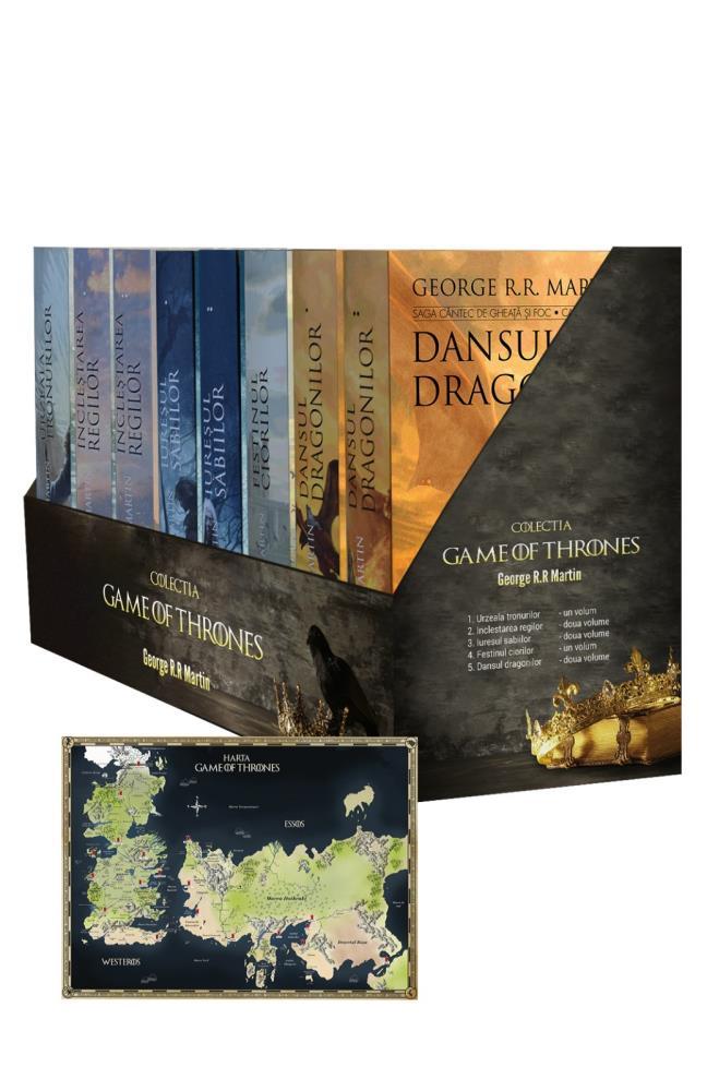 Pachet Urzeala Tronurilor (Game of Thrones)
