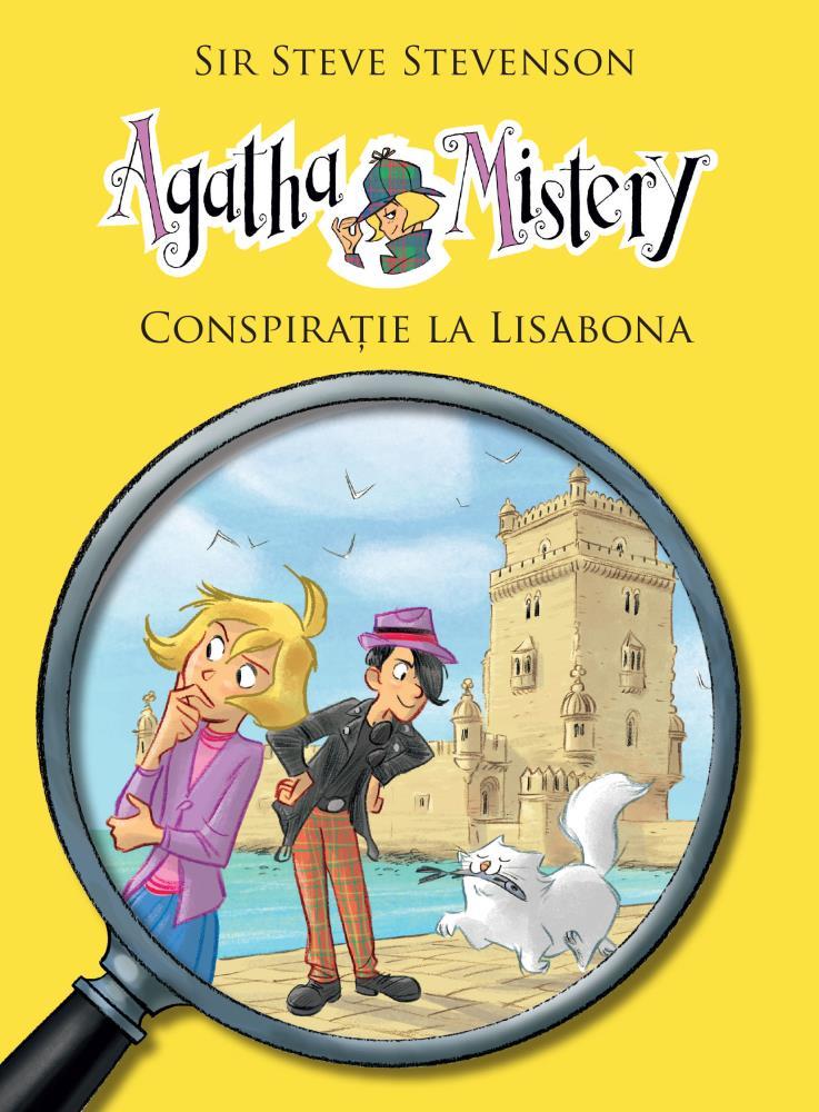 Agatha Mistery. Conspiratie la Lisabona (Vol.7)