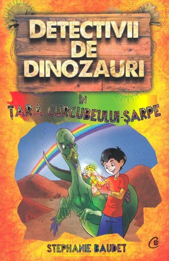Detectivii de dinozauri în țara curcubeului - șarpe. A patra carte