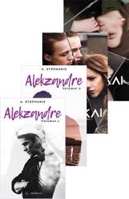 Pachet 4 carti Alekzandre + Malakai