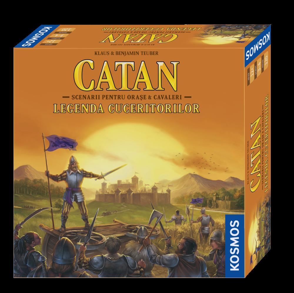 Catan - Legenda Cuceritorilor