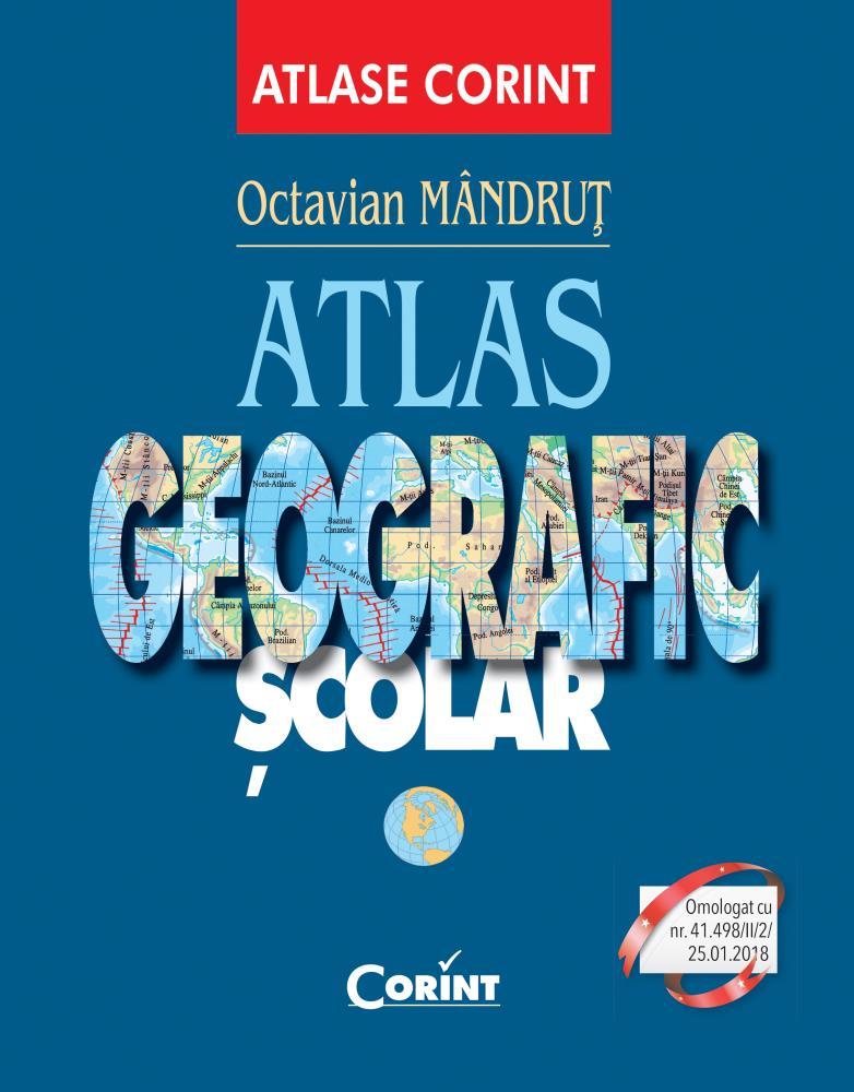 Atlas geografic general nou (albastru)