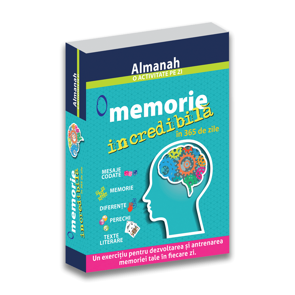 Almanah - O activitate pe zi: O memorie incredibila in 365 de zile
